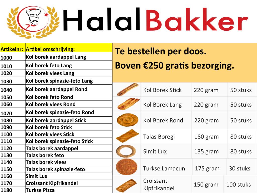 HalalBakker Presentatie 4de